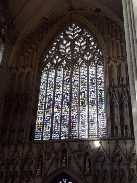Glasswork, York Minster