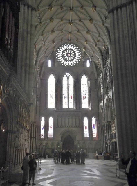 Vast space, York Minster