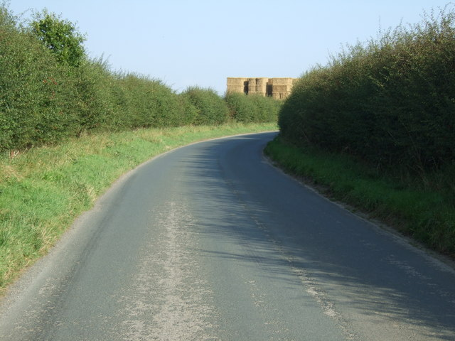 A bend in Rudston Road
