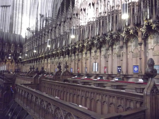 Choir, York Minster