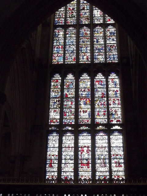 Stained glass, York Minster