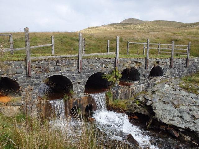 Bridge, Nant Rhuddlan