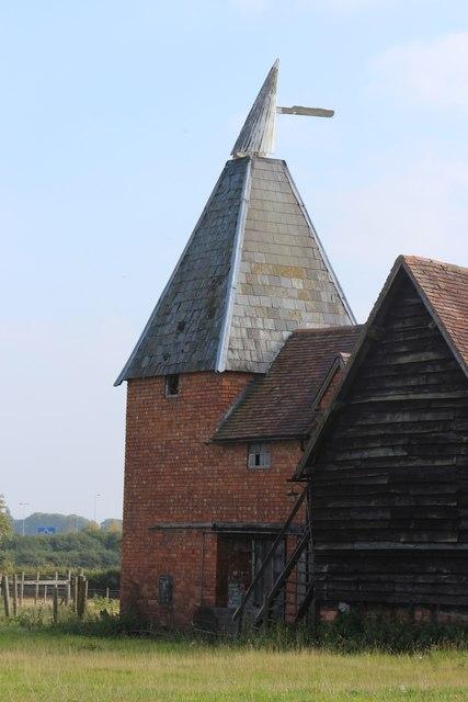 Oast House at Church Farm, Whittington