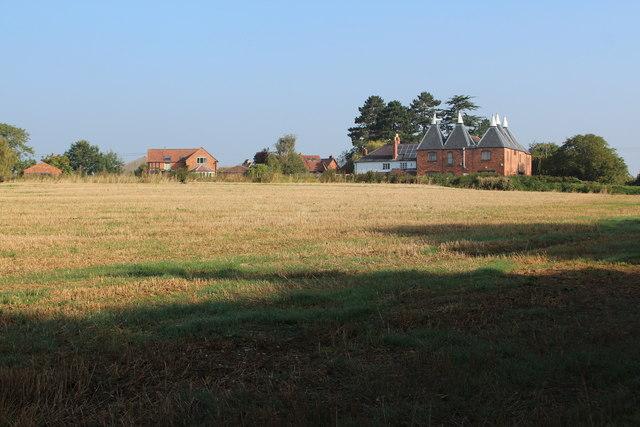 Oast House at Chirkenden Farm, Sherridge Road