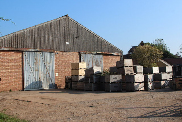 Fruit storage barn at Smith End Green
