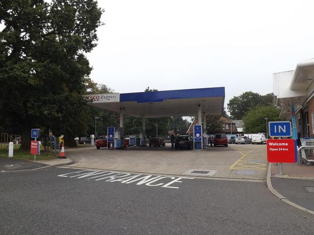 Tesco Express Fuel Filling Station, Earlham Road