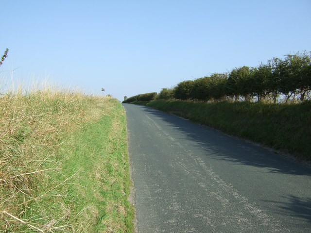Uphill on Rudson Road