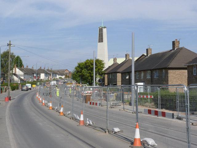 Southchurch Drive near Whitegate Vale