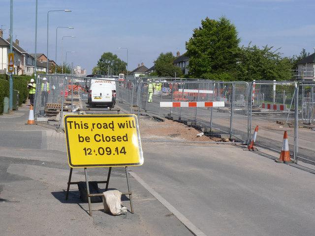 Road closure pending