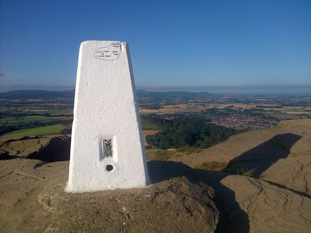 Newly Painted Trig Point