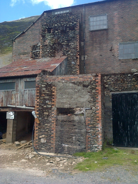 Abandoned Buildings, Force Crag Mine