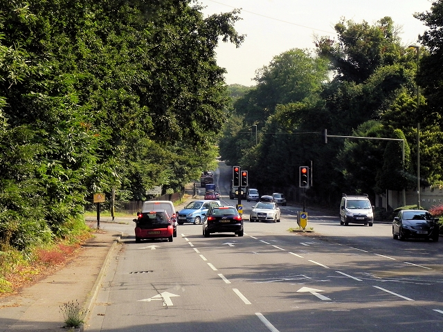 London Road/Blacknest Road Junction