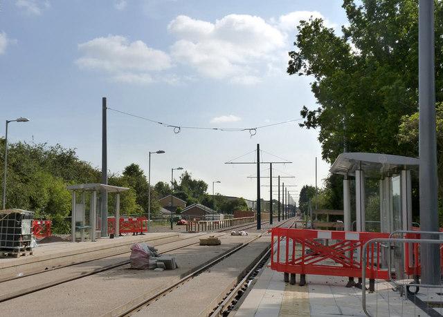 Compton Acres tram stop