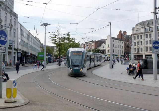 New tram in service
