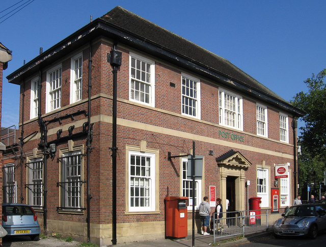 Leigh - Post Office - Silk Street frontage