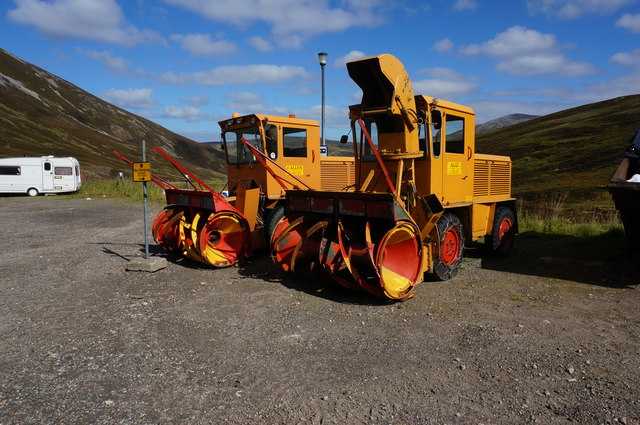 Snow Blowers, Glenshee Ski Centre