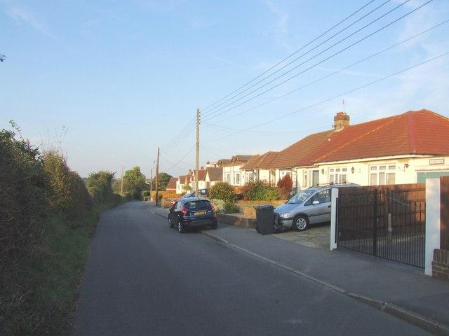 Burnt House Lane, Hawley