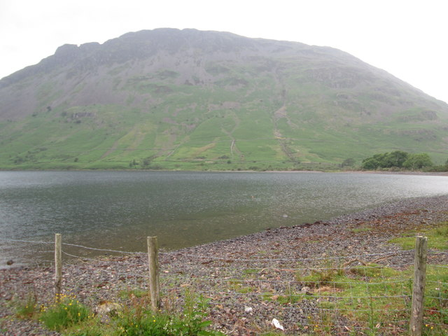 Yewbarrow on the other side of Wastwater