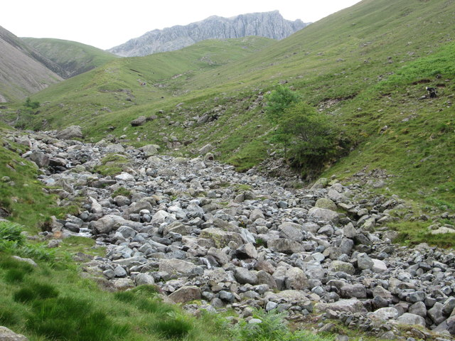 Rocky stream – Lingmell Beck