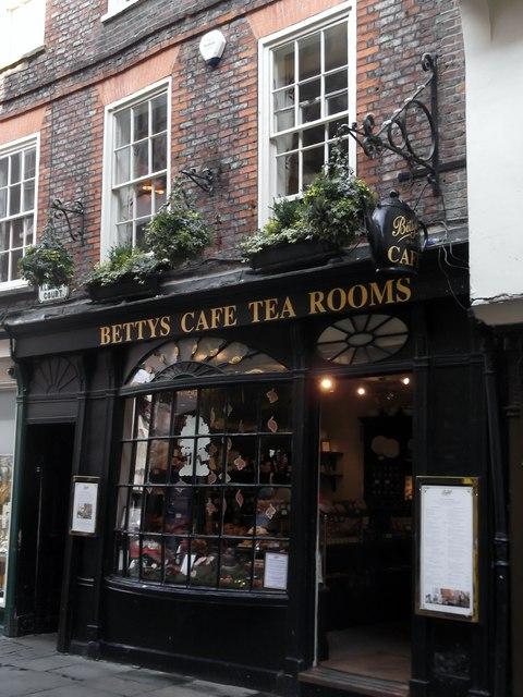 Bettys Café Tea Rooms, Stonegate, York