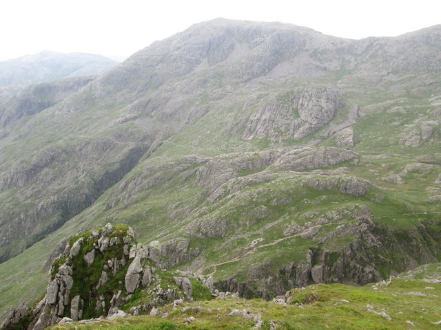 The Corridor Route from Lingmell