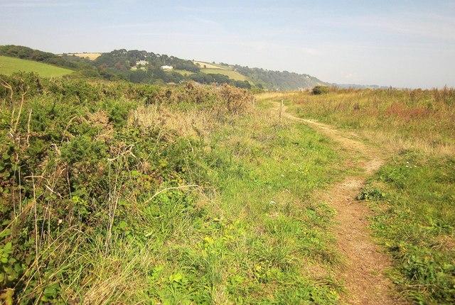 Path by Slapton Sands