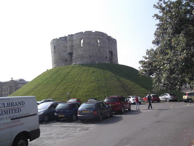 Castle Car Park and Clifford's Tower, York