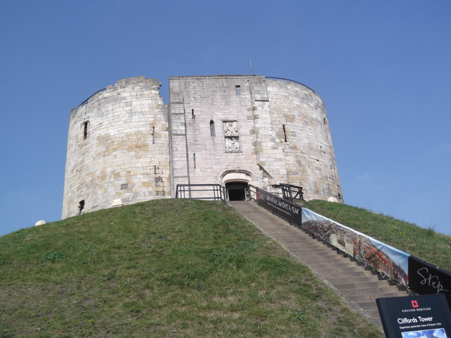 Clifford's Tower, Tower Street, York