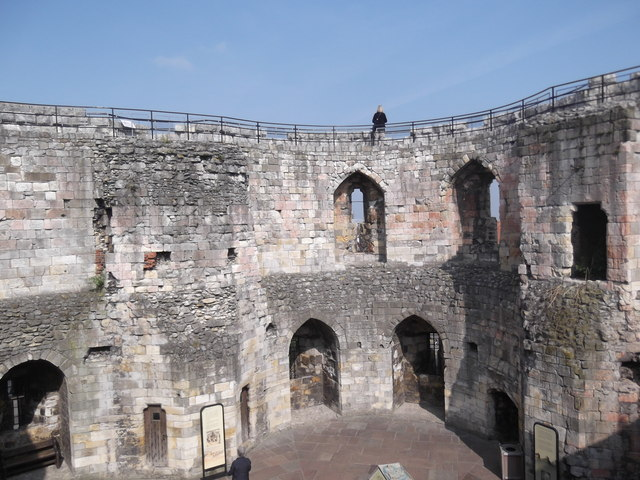 Interior, Clifford's Tower, York