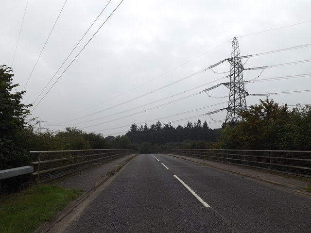 Intwood Road & Bridge over the A47 Norwich Bypass