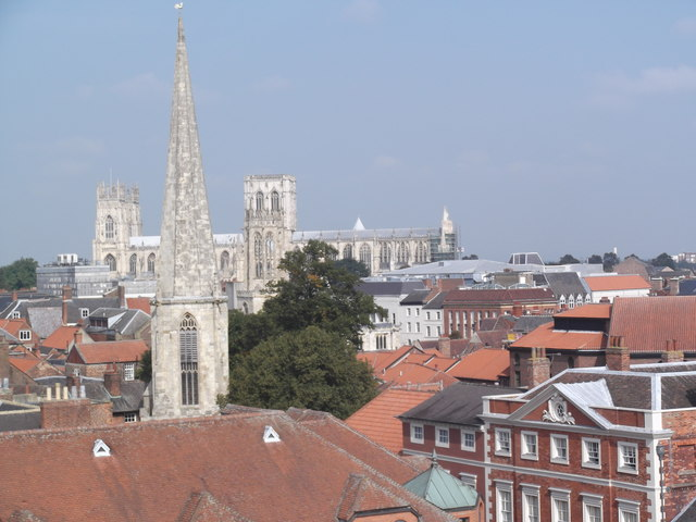 Rooftops from Clifford's Tower