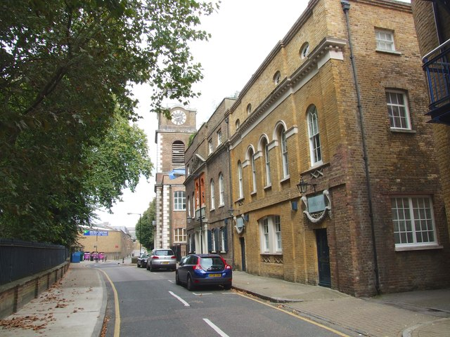 Scandrett Street, Wapping