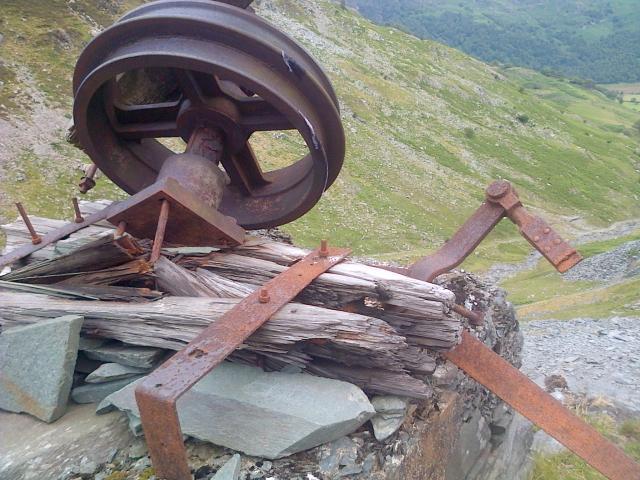 Disused Equipment, Rigg Head Quarries