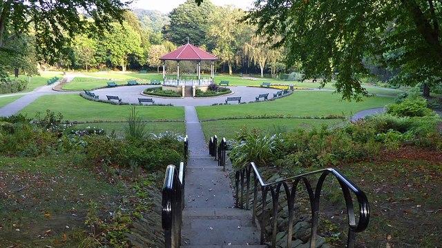 The bandstand in Elsecar Park
