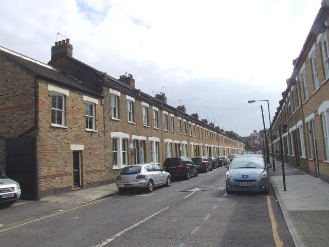 Senrab Street, Stepney