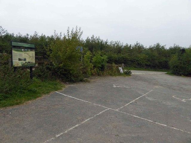 Trans Pennine Trail (TPT)  Cote Green car park
