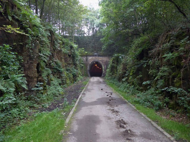 Thurgoland tunnel ahead