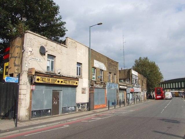 Commercial Road, Limehouse