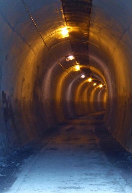 Thurgoland (1947 Huthwaite) former railway tunnel