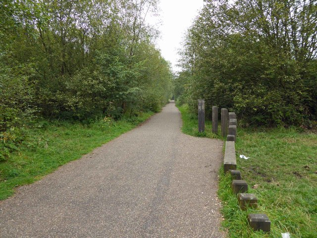 The Trans Pennine Trail near Oxspring