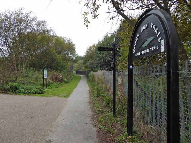 Trans Pennine Trail in Penistone