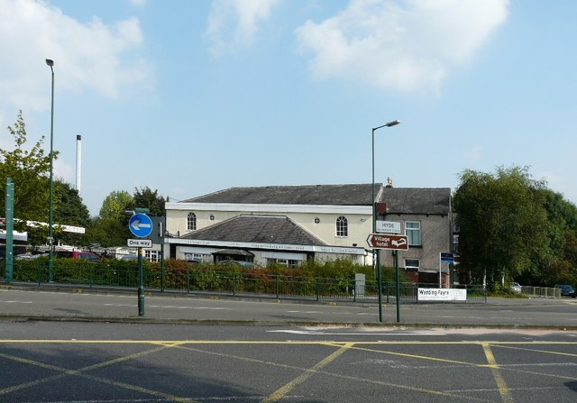 The former St Andrew's Mission, John Street