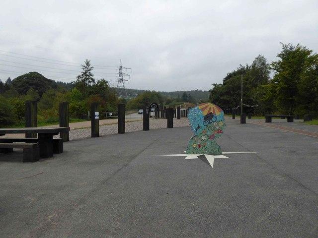 The TPT Dunford Bridge artwork