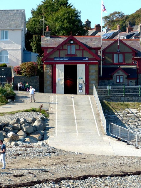 R.N.L.I Lifeboat station Cricieth