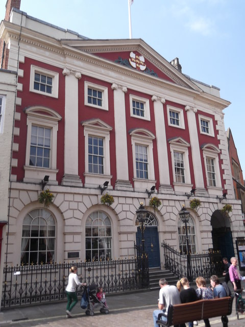 Guildhall, St Helen's Square, York