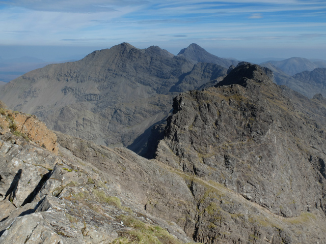 Sgùrr a' Mhadaidh summit view