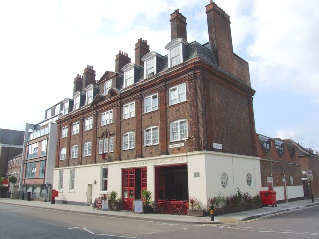 Fire Brigade Station, Millwall