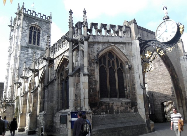 St Martin-le-Grand, Coney Street, York