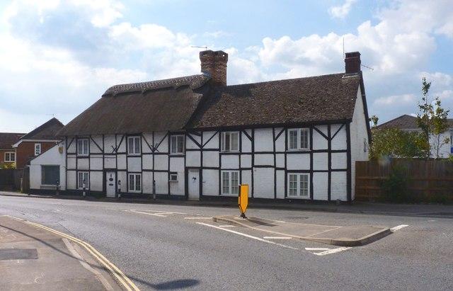Cottages on Christchurch Road, Ringwood