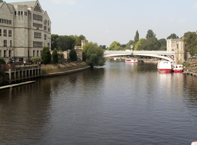 River Ouse and Lendal Bridge, York